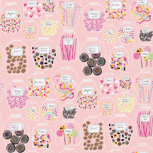 Sugar Rush Candy Jars for Quilting Treasures