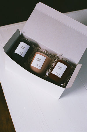 Na Nin Places Collection : 5oz Candle Trio Gift Box