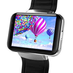 "2.2"" Bluetooth SmartWatch with Android 4.4 OS, Dual Core 1.2 GHz CPU, 3G Phone, 4GB ROM, 1.3 mp Camera, WCDMA & GPS for Google Maps, etc."