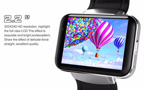 "2.2"" Slimy 3G Android OS SmartWatch with GPS Google Maps, Fitness Tracker Pedometer, WIFI and Bluetooth support"