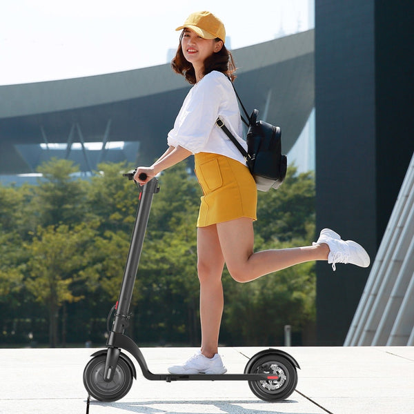 "eScooter 8.5"" Electric Scooter, Removable Lithium Battery, 36V 250W Motor, Adult Wheel, Kick e-scooter, Folding frame"