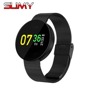 "0.95"" Slimy Waterproof Smart Watch with Heart Rate, Blood Pressure Monitor, Massage Reminder and Fitness Smartwatch for Android & iPhone"