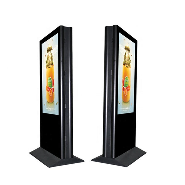 "All-in-One 80"" Outdoor Touchscreen HDTV Display with Android or Windows PC for Commercials & Service interaction"