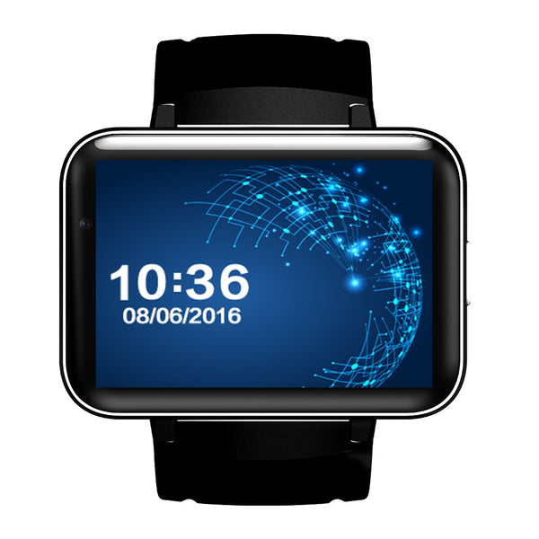 "2.2"" Android OS SmartWatch with GPS Google Maps, Fitness Tracker Pedometer, WIFI and Bluetooth support"