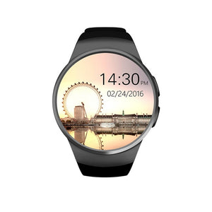 "1.3"" Bluetooth SIM SmartWatch with Heart Rate, Sleep Sensor & Pulse Fitness Monitor for Android & iPhone"