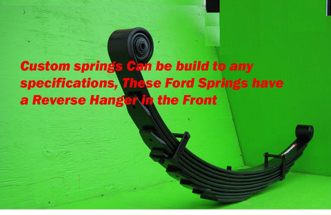 "Ford F250 (1980-98) Front Lift Springs 10"" - Pair"