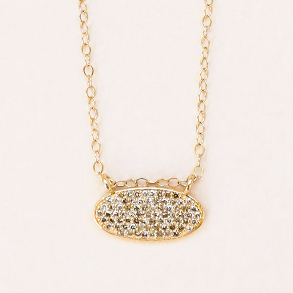 Champagne Diamond Necklace - Pigment
