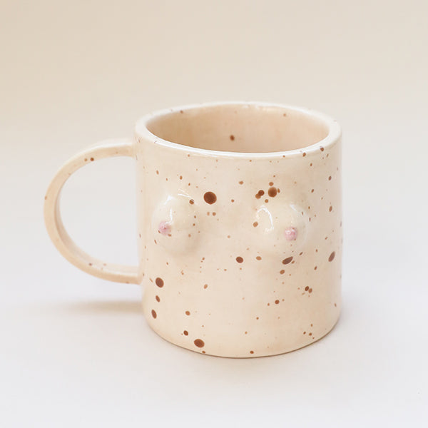 Boob Mug - Freckled Fair - Pigment