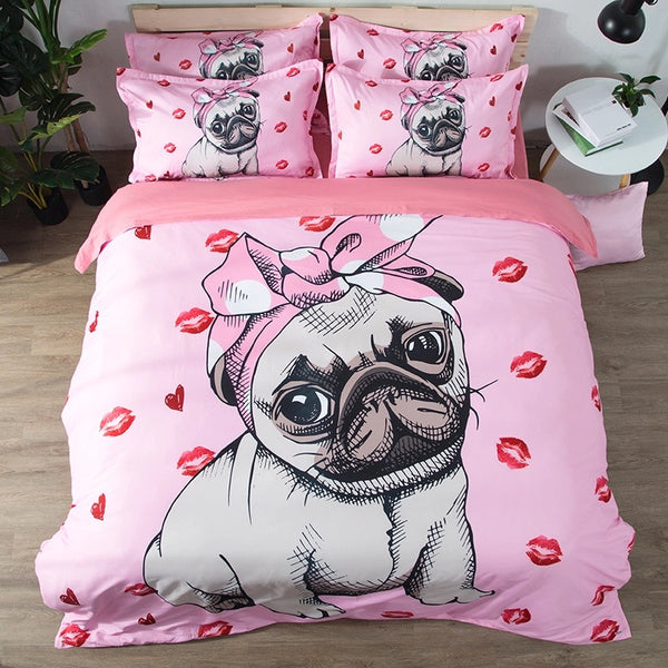 Bedding Set Baby Pug
