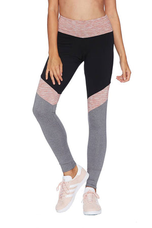 Beach Riot Sport Lacy Legging in Pink