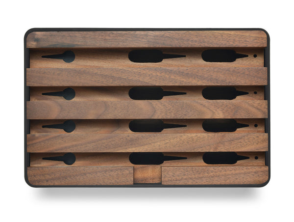 ALLDOCK Medium Schwarz / Walnuss Black / walnut