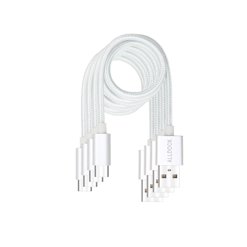 15% OFF Value Pack - 4x USB-C Kabel Weiß Cable White