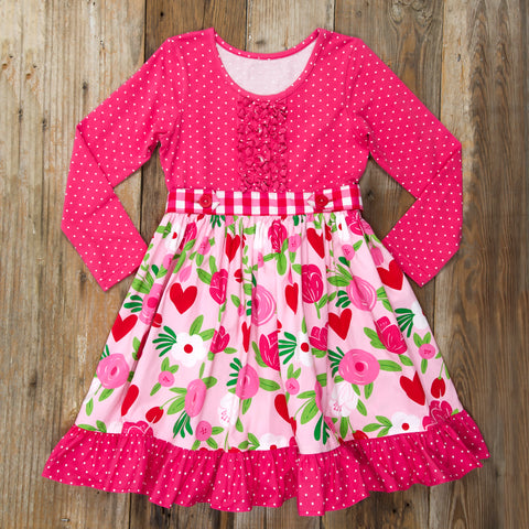 Hugs and Kisses Lyla Dress