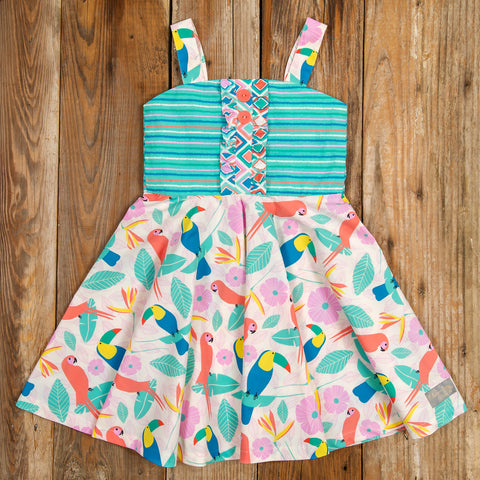 Tropical Paradise June Dress