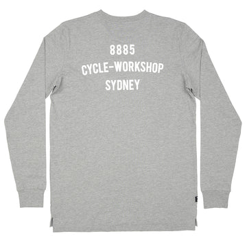 Classic Long Sleeve Tee Grey