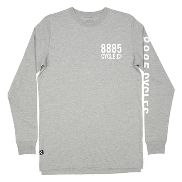 Company Long Sleeve Tee Grey