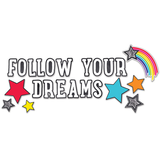STARS FOLLOW YOUR DREAMS BBS SCHOOL GIRL STYLE - Supplies by Teachers