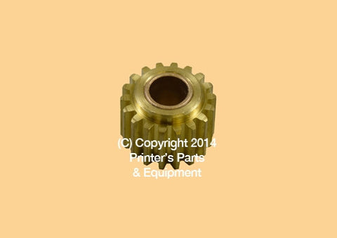 Drive Gear Ink Idler Night Latch BRASS AB Dick All Models