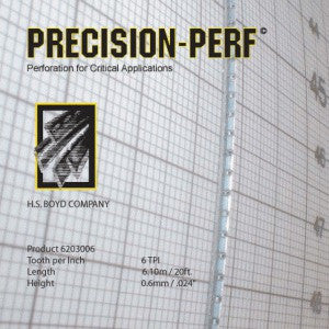 HS Boyd Precision-Perf / CS 10-Foot Roll Center Series Rules