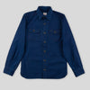 Oxford Shirt - Indigo/Black