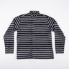 Work Shirt Type VII – 5 Oz Indigo Grey Prison Stripe
