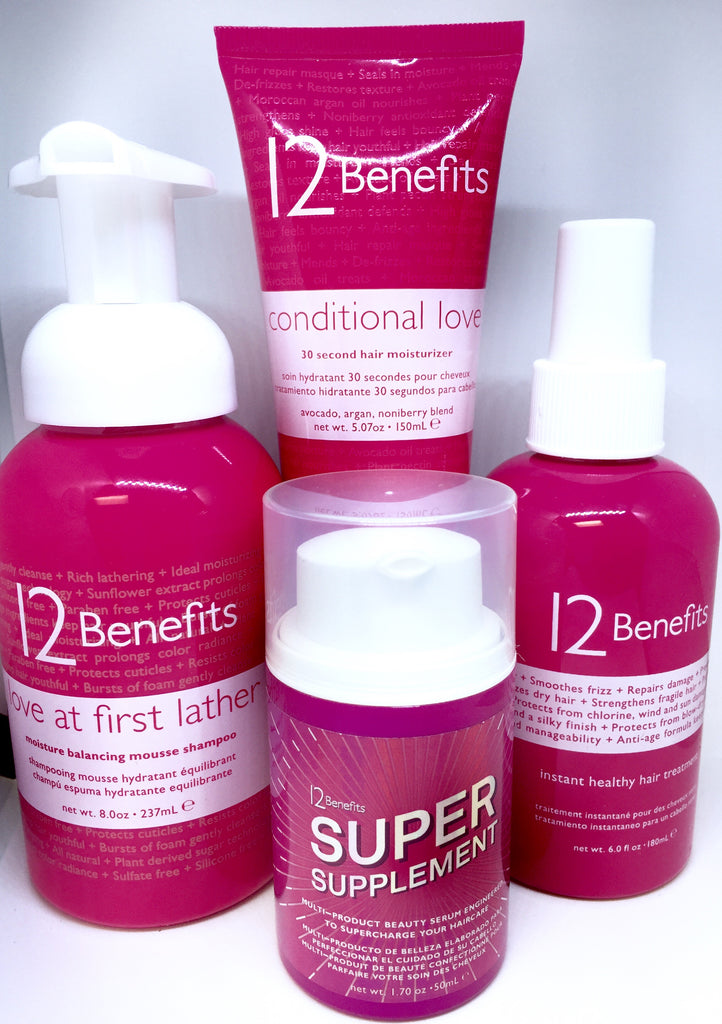 Award Winning Hair Wellness = 4 products bundled
