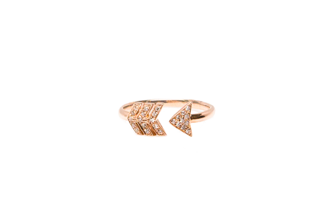 Arrow Middie Cuff Ring