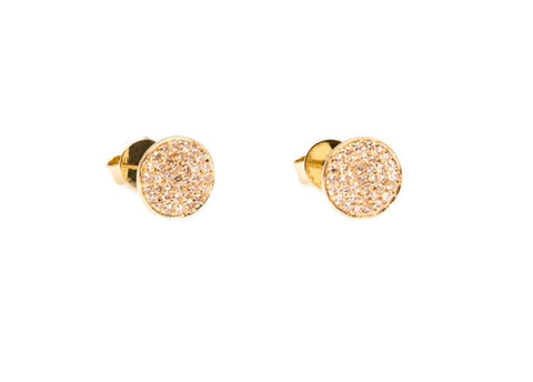 (1 Side) Diamond Disc Earring