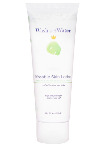 Wash with Water Kissable Skin Lotion Essence of Sweetpea and Pear