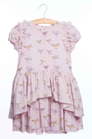 Siaomimi Lela Dress Mauve Bird