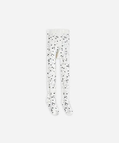 Rylee and Cru Scattered Stars Tights Ivory