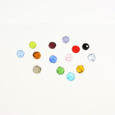 8mm Colored Beads (14 colors)<br>Pack of 10
