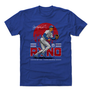Ryne Sandberg Men's Cotton T-Shirt | 500 LEVEL