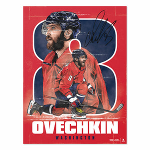 Alex Ovechkin Poster | 500 LEVEL
