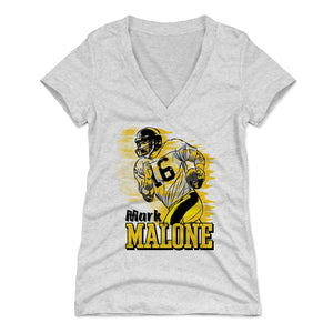 Mark Malone Women's V-Neck T-Shirt | 500 LEVEL