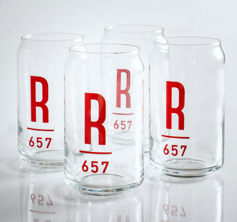 Set of 4 Roots 657 Beer Glasses
