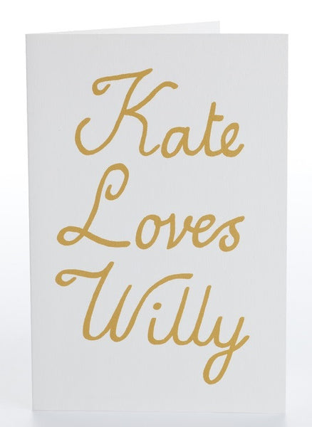 Kate Loves Willy