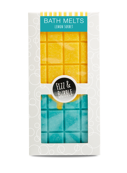 Lemon Sorbet Candy Bar Bath Melt from Fizz & Bubble