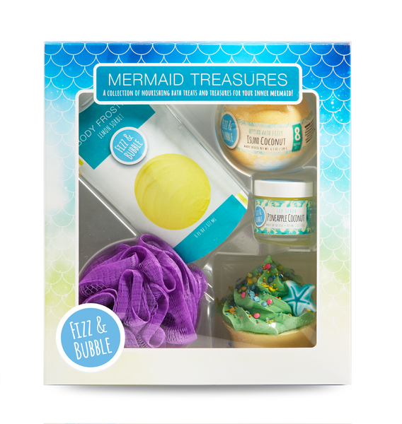 Mermaid Treasures Gift Box from Fizz & Bubble