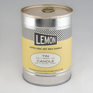 Lemon Canned Candle