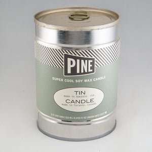 Pine Canned Candle