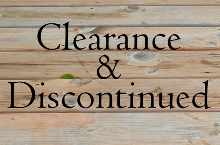 Clearance & Discontinued Items