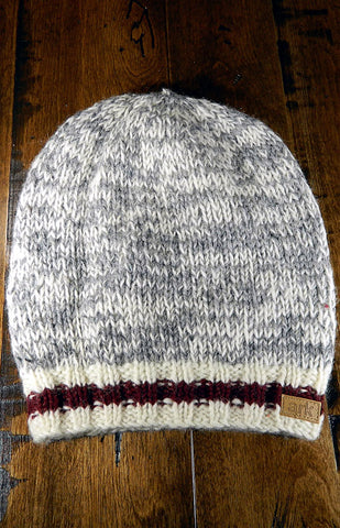 Hat - Grey Cabin Slouch Toque