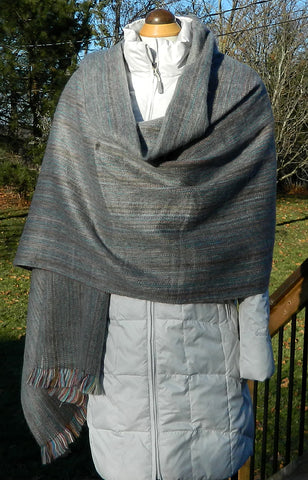 Alpaca Wrap - Grey Jose