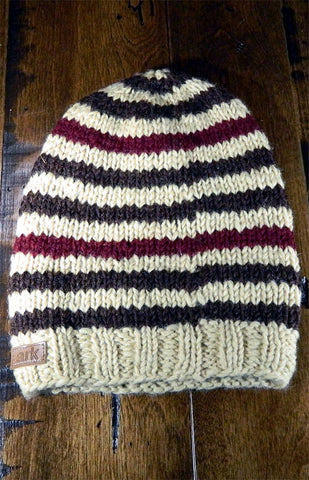 Hat - Kids Striped Toque 01