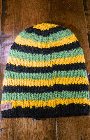 Hat - Kids Striped Toque 06