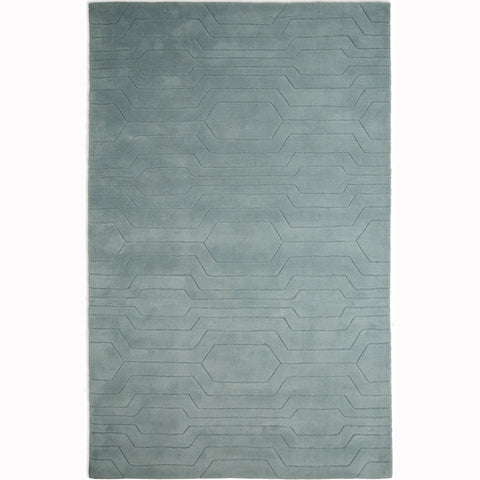 Plantation Rug Co. Circuit Green/Grey