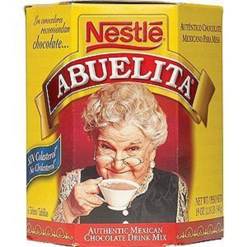 Abuelita, Chocolate Drink Mix Tablets 6Ct, 19-Ounce (12 Pack)