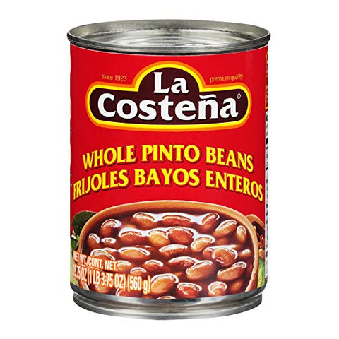 La Costena Barbunya Fasulyesi - Whole Pinto Beans 560 Gr ( 19.75 Oz )