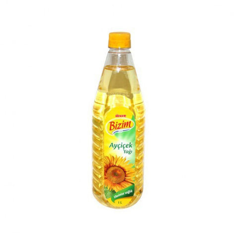 Ulker Bizim Aycicekyagi - Sunflower Oil 1 Lt ( 33.8 Oz )